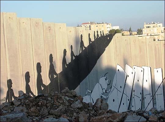 banksy palestine 2