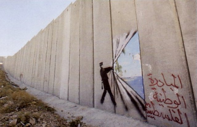 banksy palestine 3