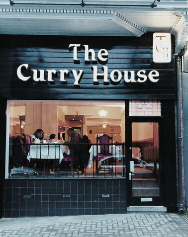 the curry house レスター