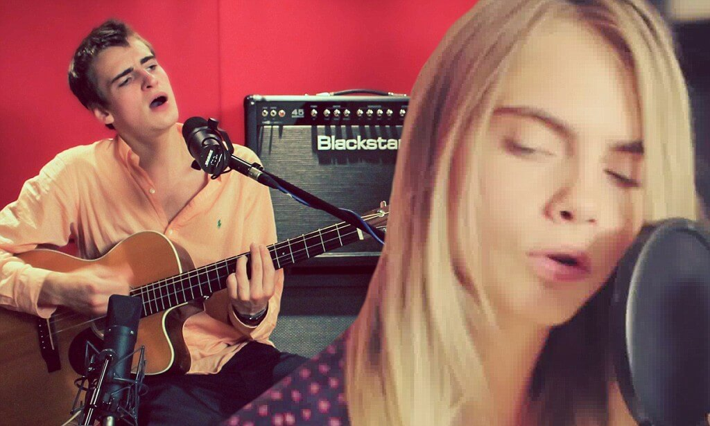Will Heard & Cara Delevingne Perform Sonnentanz
