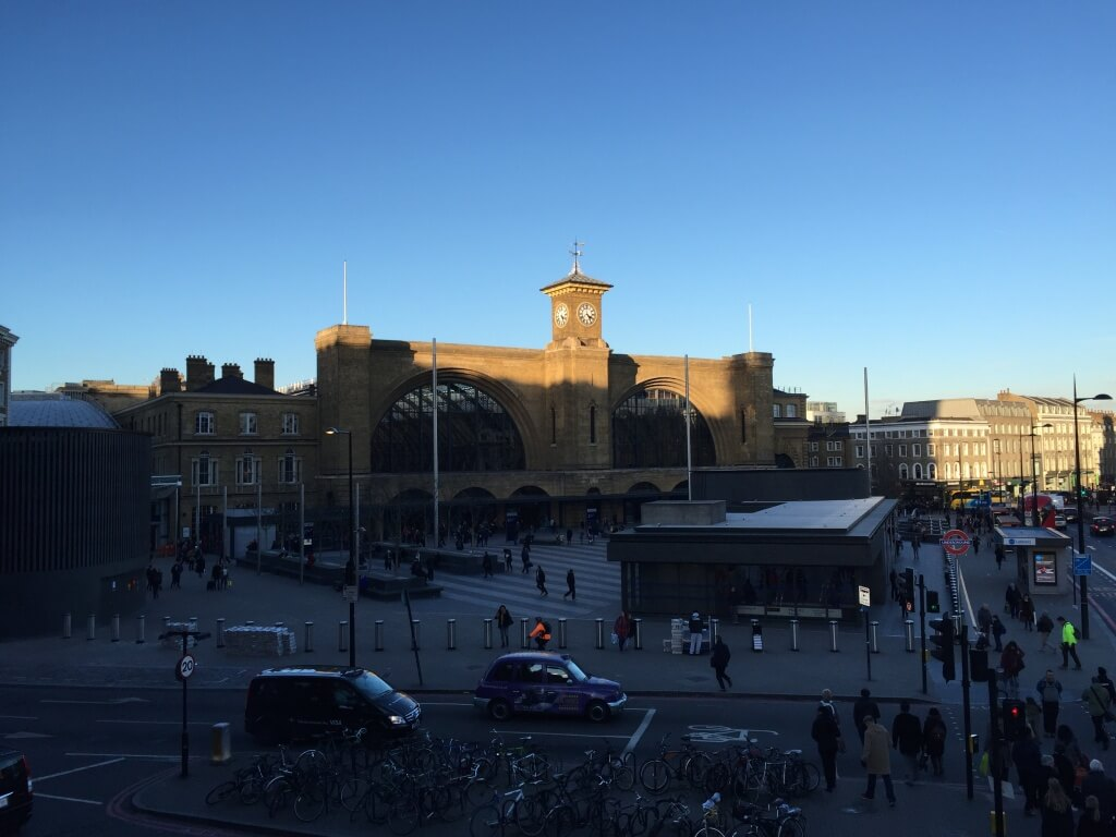 King's Cross station outside